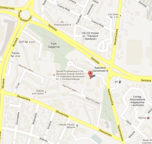 Lokalizacja nowej siedziby